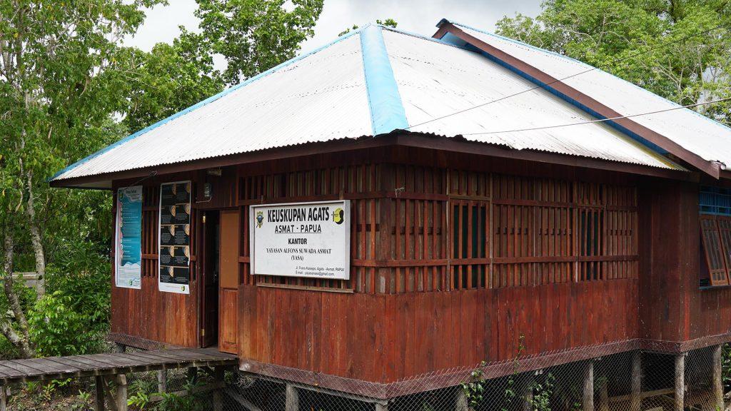Kantor Yayasan Alfons Suwada Agats